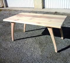 diy pallet coffee table with arched legs pallets pro