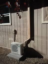 mitsubishi mini split install sacramento homeowner install daikin ductless mini split heat pump