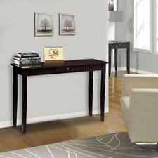 Wood Console Table Console Tables Ebay