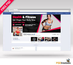 Facebook Page Cover Template by Health And Fitness Facebook Cover Psd Download Download Psd