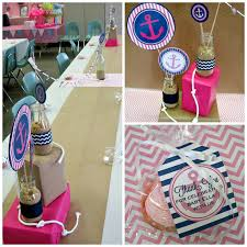 Nautical Baby Shower Decorations - nautical baby shower centerpieces baby shower picture gallery