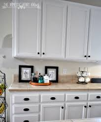 paint kitchen cabinets white diy kitchen decoration