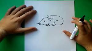 imagenes de ratones faciles para dibujar como dibujar un raton paso a paso how to draw a mouse youtube
