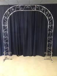 wedding arch nashville white wedding arch with extension rental murfreesboro tn rent