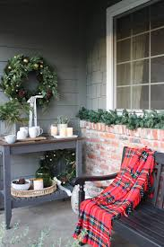 Cozy Front Porch Chairs On And Inviting Front Porch Christmas Decor