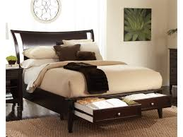 aspen home bedroom furniture furniture 5 drawers chest and bed frame with storage from aspen