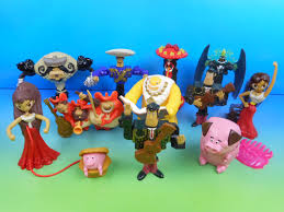 2014 the book of set of 11 mcdonald s happy meal s