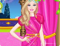 barbie celebrity princess dress games