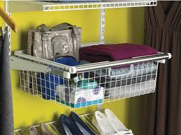 Styles Organizing Bins Rubbermaid Closet Sliding Wire Basket For Use With The Configurations Or Home Free