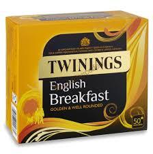 twinings breakfast envelope tea 50 bags