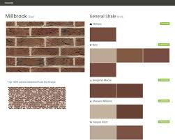 lincoln park red brick general shale behr olympic benjamin