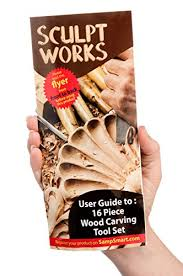 Wood Carving Tools Set For Beginners by Wood Carving Tool Set 16 Piece From Sculptworks Beginners Import