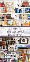 7 steps to eye catching bookshelves jest cafe