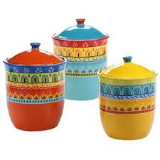 teal kitchen canisters set of canisters jars you ll love wayfair