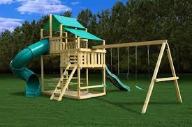 outdoor wooden swing set plans swingset plans for your
