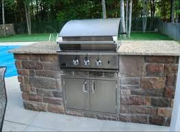 Outdoor Kitchen Cabinet Plans Kitchen Outdoor Bbq Grill With Sink Bbq Island Outdoor Kitchen
