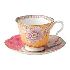 teacup and saucer butterfly bloom floral bouquet teacup saucer wedgwood us