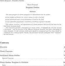 thesis proposal templates download free u0026 premium templates