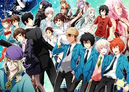 wallpaper anime crossover guilty crown psycho pass mononoke