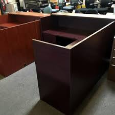 Used Receptionist Desk For Sale Used Office Desks And Board Room Tables Phoenix Az Office