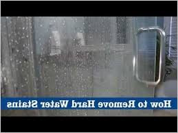 Water Stains On Glass Shower Doors How To Remove Water Stains From Shower Doors Cozy Glass Shower