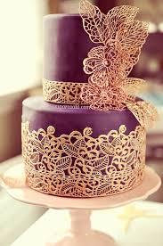 lace wedding cakes 40 so pretty lace wedding cake ideas purple wedding cakes