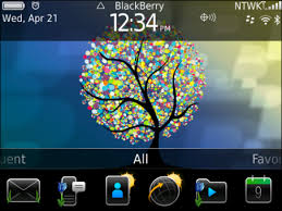 themes mobile black berry blackberry exclusive spring theme roots of spring free download