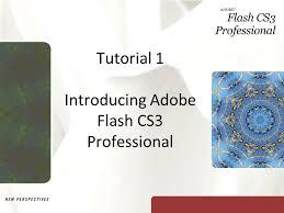 tutorial photoshop cs3 professional tutorial 1 introducing adobe flash cs3 professional ppt video