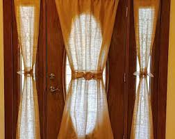 Single Curtains Window Rustic Curtains Etsy