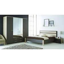 cdiscount chambre complete adulte selena lit adulte 140x190cm chêne brossé lavande achat vente