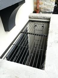 Basement Windows Toronto - metal basement window well cover u2013 idearama co