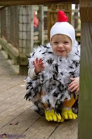 Infant Chicken Halloween Costume Diy Chicken Costume Photo 2 5