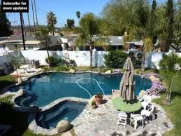 landscaping rocks around pool rock landscape design ideas youtube