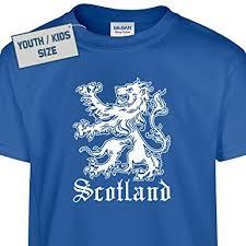 youth scotland t shirt scottish t shirt kilt