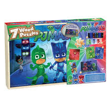 halloween jigsaw puzzles for adults pj masks wood jigsaw puzzle 7 pack toys
