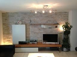 Wohnzimmer Mit Indirekter Beleuchtung Bemerkenswert Wände Mit Naturstein Gestalten Auf Ideen Fur Haus