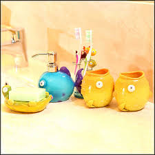 cute and cool kids bathroom accessories for girls u0027 and boys