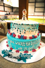 olaf frozen themed birthday cake cakecentral com