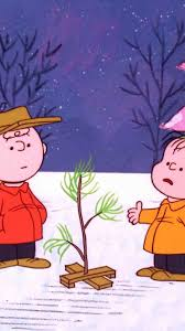 brown tree linus peanuts comic 1295418