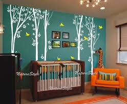 Wall Decals For Baby Nursery Free Shipping Birch Tree Wall Decals Children Baby Nursery