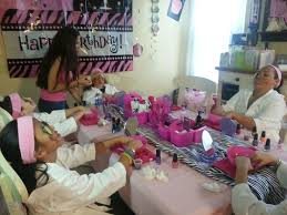 Birthday Decoration Ideas For Kids At Home 138 Best Spa At Home Images On Pinterest Spa Birthday Parties