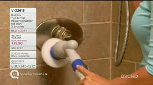 Bathtub Scrubber Quickie Tub N Tile Power Scrubber Kit With 2 Brushes U2014 Qvc Com