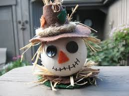 fall scarecrow ornament craft tutorial