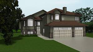 front to back split house house front to back split house plans