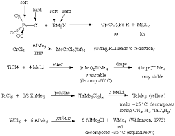 Electron Counting Organometallic Compounds Exles The Organometallic Hypertextbook Metal Alkyl Complexes