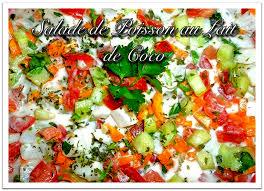 cuisine tahitienne recettes salade de poisson au lait de coco recettes nc cuisine calédonienne