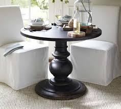 black round pedestal table black small round pedestal table popular round pedestal tables