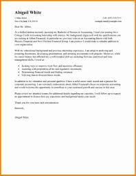 Cover Letter For College Employment Budget Accountant Cover Letter