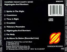 Manfred Mann Blinded By The Light Meaning Nightingales U0026 Bombers Manfred Mann U0027s Earth Band Songs