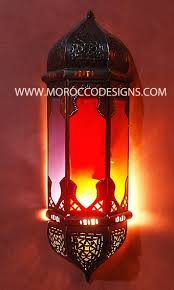 Moroccan Sconce Sconce Red Outdoor Wall Sconce Red Coral Wall Sconce Moroccan